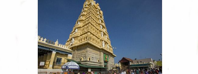 Chamundihills temple Staff threaten to launch indefinite agitation from Dec 14