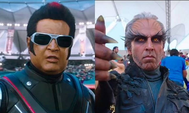 Rajinikanth-Akshay 2.0 sets the box office ringing