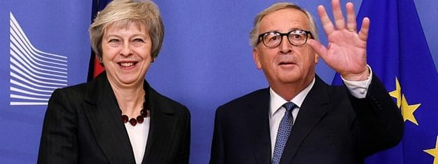 May to travel to Brussels on Tuesday for Brexit Talks with Juncker, Tusk - Source