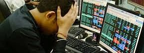 Sensex down by 183.92 pts