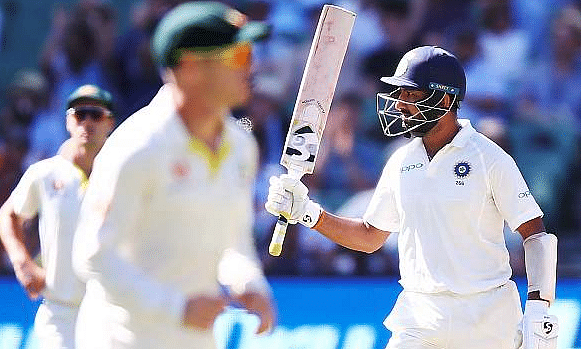 Melbourne test: India at 394/5