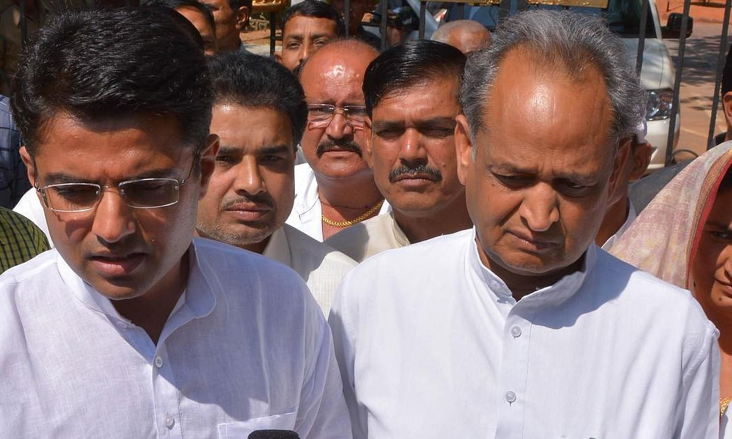 Finally Sachin Pilot gives in; Ashok Gehlot becomes CM