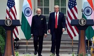 Modi, Trump exchange New Year greetings; both pledge to boost bilateral ties