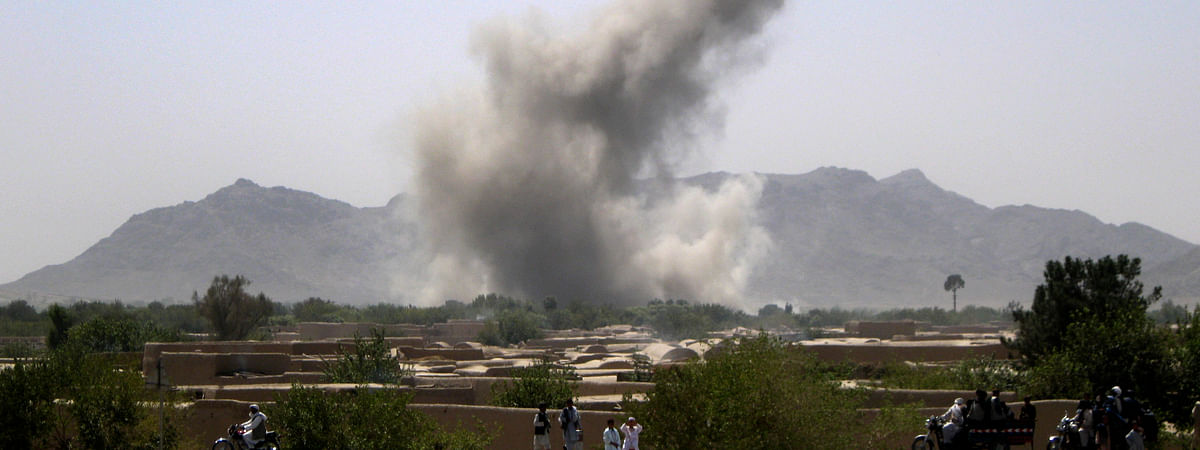 Airstrike kills 10 militants including Taliban commander in N Afghanistan