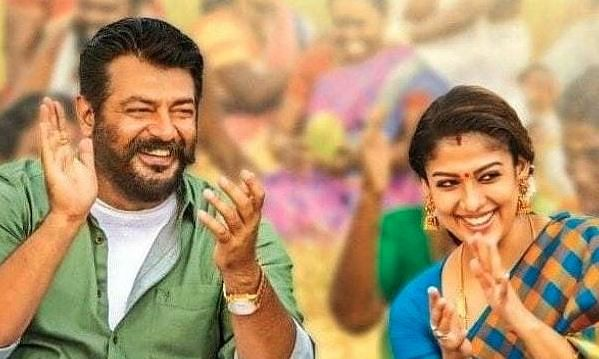 Viswasam: Accolades for the chemistry between  Ajith and Nayanthara