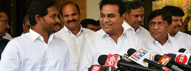 TRS and YSRCP leaders discuss need for forging federal front