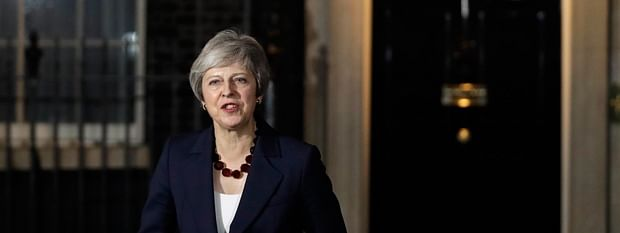May on collision course with EU