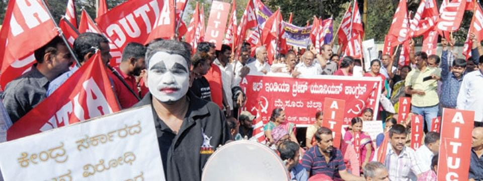 Bharat bandh effect total on day 1
