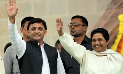 SP-BSP alliance in UP: Lucknow covered with banners, hoardings and posters