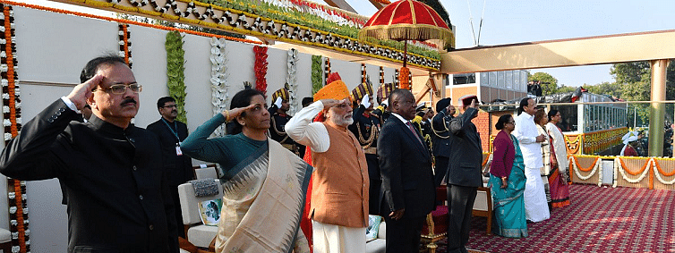 India revels in Gandhi connection on it's 70th Republic day