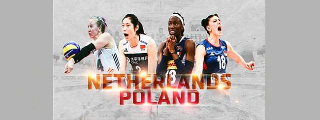 Netherlands and Poland to host 2022 FIVB Volleyball Women's World Championship