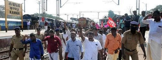 Railways to seek huge compensation from protestors for blocking trains