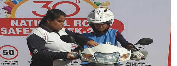 Honda 2 Wheelers concludes 'National Road Safety Week'