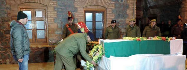 J&K Police pay rich tribute to Dy SP killed in Kulgam encounter