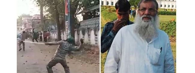 Labhpur TMC MLA rescued by police after a violent mob attack