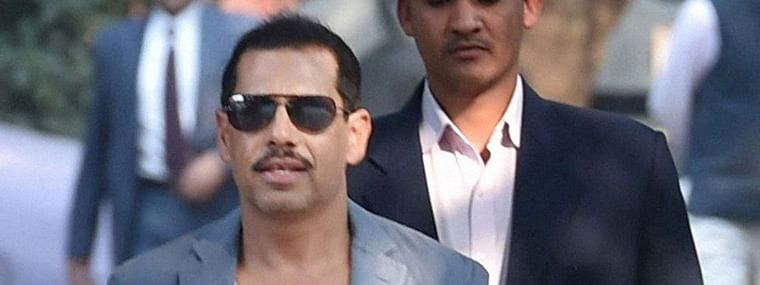 Robert Vadra appears before ED for questioning