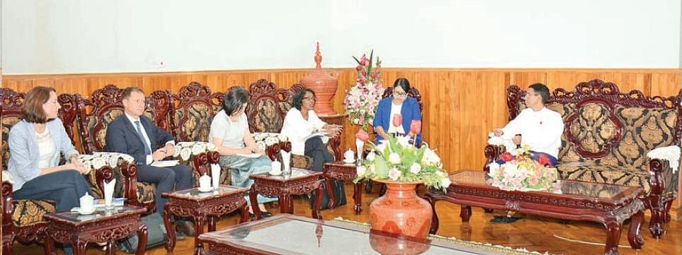 Myanmar and FAO sign agreement on food security