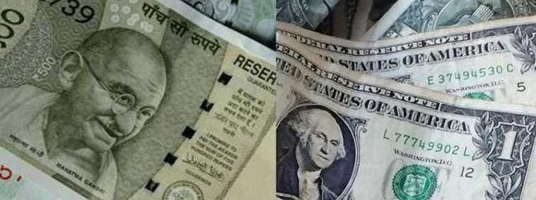 Rupee falls marginally by 2 paise against USD