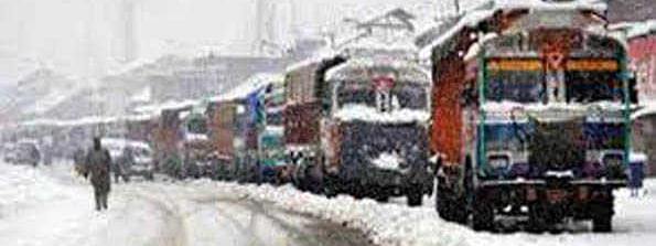 Kashmir highway through for one-way only
