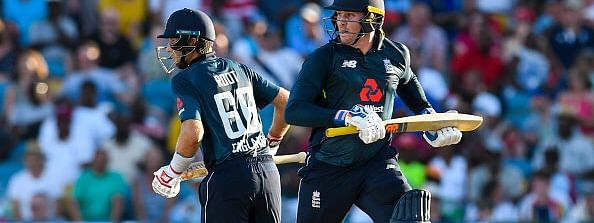 Jason Roy, Joe Root power England to six-wicket victory over West Indies