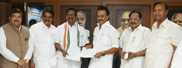 DMK gives 9 TN seats and Puducherry to Congress