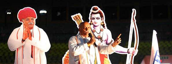 Togadia launches party, to contest from Ayodhya