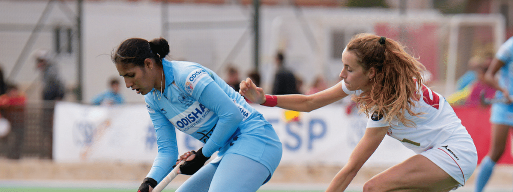 Spain hold Indian women hockey to a 2-2 draw