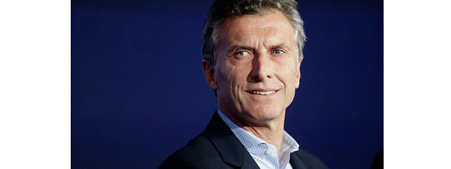 President of Argentina Macri arrives India on a three-day state visit