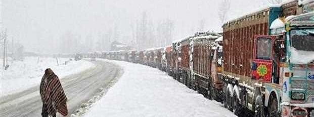 About 3,000 vehicles stranded on Kashmir highway for 2nd day