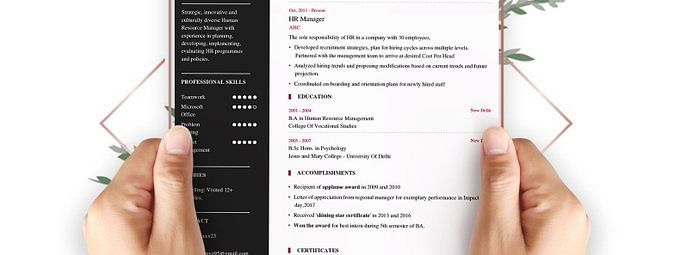 Make your CV more effective with AI