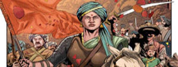 Graphic Biography of Lakshmibai launched