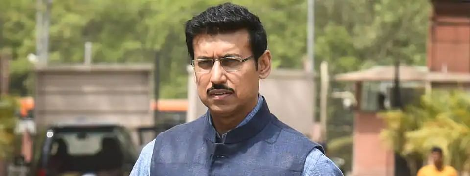 Rathore calls upon athletes to develop passion & ability to excel in sports