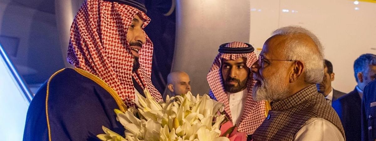 Saudi Crown Prince arrives for crucial talks
