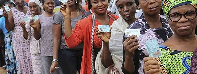 Nigerian vote in governor elections