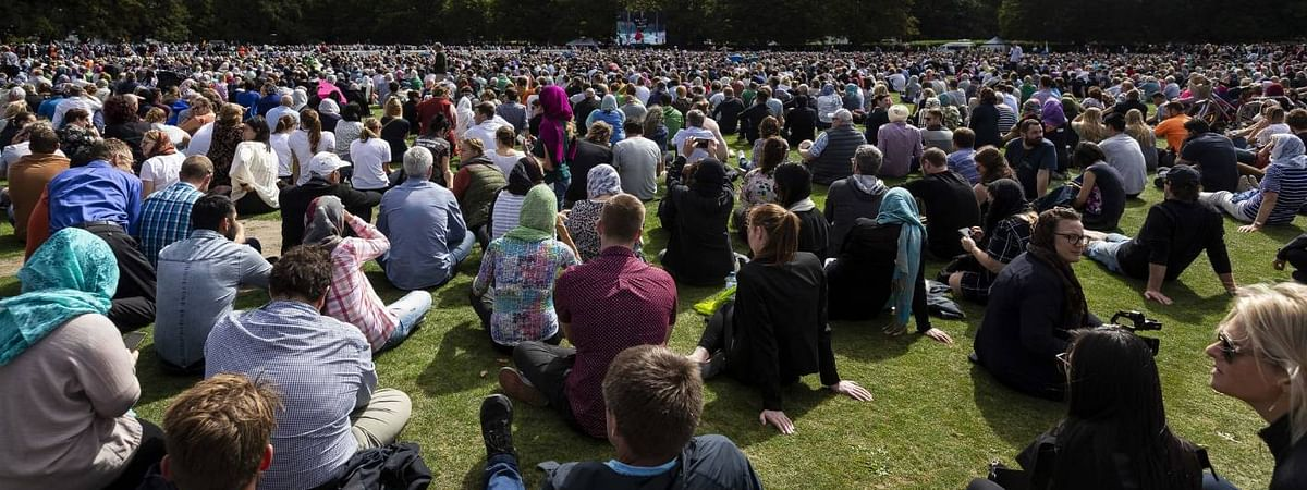 New Zealand observes silence for victims