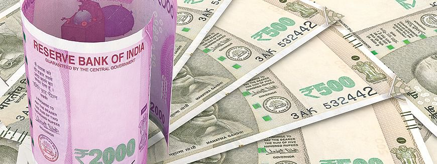 Rupee slips by 22 paise against USD