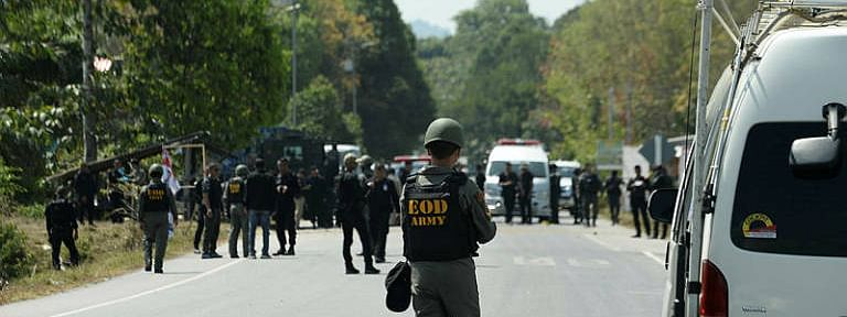 Security measures stepped up in southern Thailand following bomb blasts