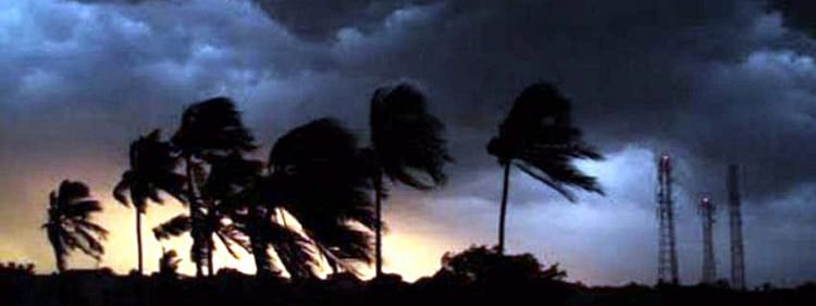 Thunderstorm with gusty wings, lightning likely in North Coastal AP