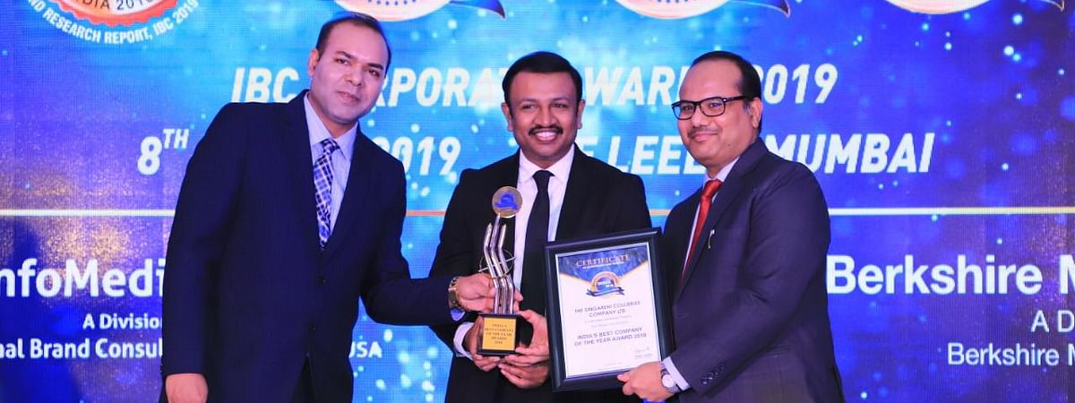 SCCL bags Best Company Award