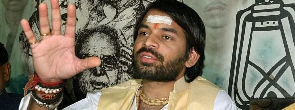 Tej Pratap resigns as patron of students' wing of RJD