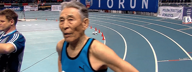 85-year-old Mongolian breaks world record at WMACI in Poland