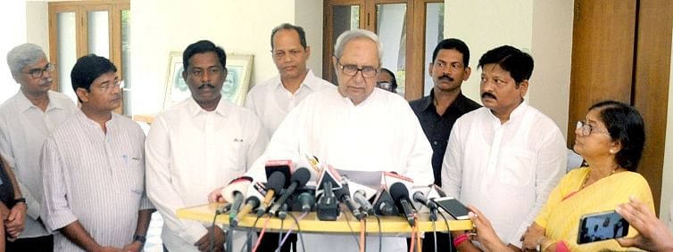 Naveen Patnaik likely to contest from Western Odisha