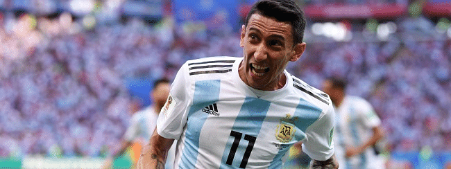 Di Maria ruled out of Argentina friendlies