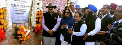 Punjab Governor inaugurates major health, sports projects in Chandigarh