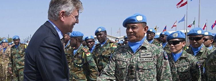Malaysian peacekeepers in Lebanon proud to serve their homeland