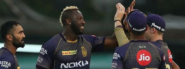 Russell's 17-ball-48-run & getting Gayle out cheaply powered Kolkata to defeat Punjab by 28 runs