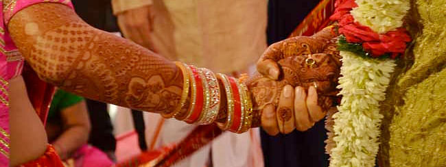 Border tension affects wedding