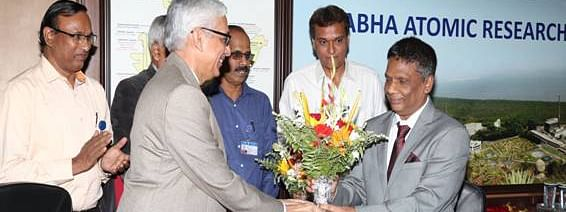 Dr AK Mohanty takes over as BARC Director
