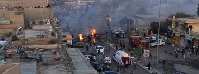 One killed, Six injured in bomb attack in central Iraq