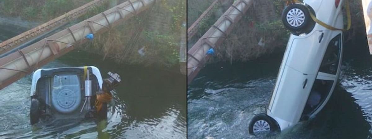 Six of a family killed as car plunges into canal